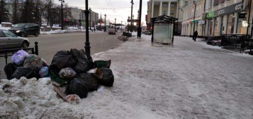 Омский регоператор обвинил бизнесменов в подбросе мусора