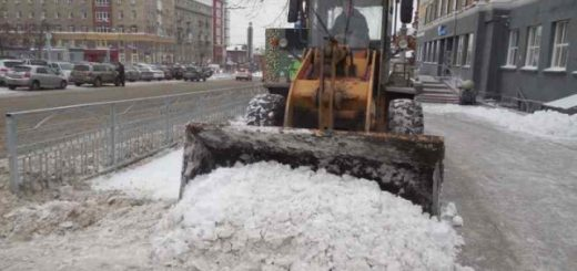 Прокуроры назвали 40 заваленных снегом улиц Новосибирска