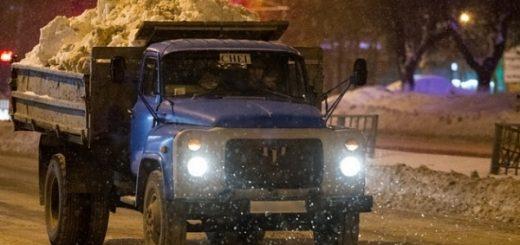 С каких улиц вывезут снег в ночь на 4 февраля в Новосибирске