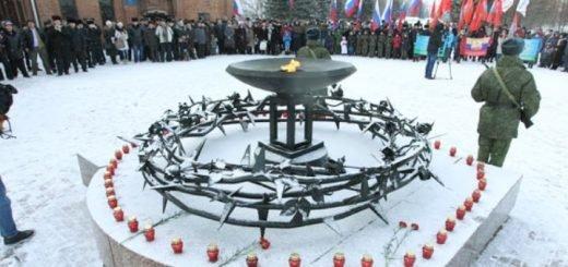 Митинг, посвященный 31-й годовщине вывода войск из Афганистана, прошел в Барнауле