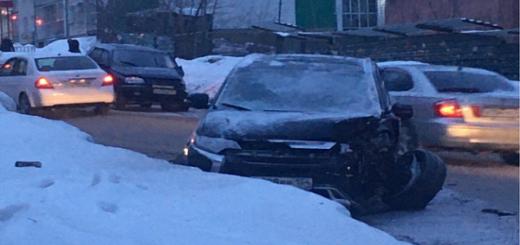Два ДТП произошло утром в Новосибирске