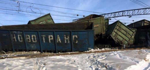 Виновными в сходе 30 вагонов с углем под Иркутском назвали стрелочников