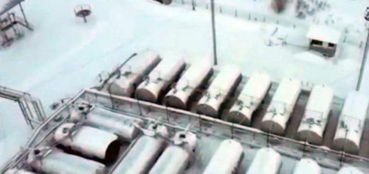 Незаконную нефтебазу нашли под Новосибирском