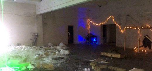 Что осталось от рухнувшего клуба в новосибирском Академгородке