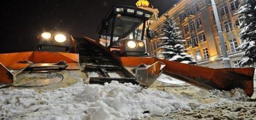 Какие улицы очистят от снега в ночь на 11 февраля в Новосибирске