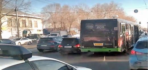 Автобус попал в массовое ДТП в Новосибирске