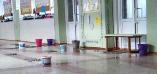 Прокуратура потребовала провести ремонт в школе с протекающей крышей