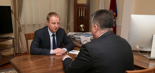 Виктор Томенко призвал руководство Арбитражного суда к информационному обмену