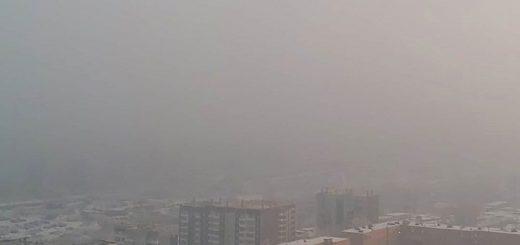 Режим черного неба продлили в Красноярске. Жители готовят митинг