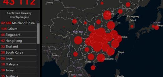 Коронавирус онлайн: актуальная карта распространения инфекции по миру