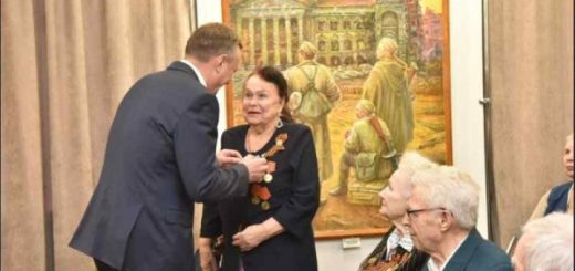В НСО ветеранам вручены первые юбилейные медали «75 лет Победы в Великой Отечественной войне»