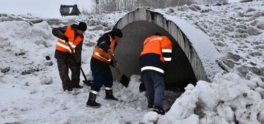 Алтайские дорожники начали готовиться к паводку-2020