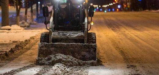 Какие улицы очистят от снега в ночь на 13 февраля в Новосибирске