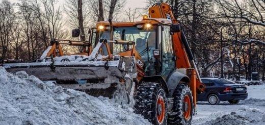 Какие улицы очистят от снега днём 14 февраля в Новосибирске