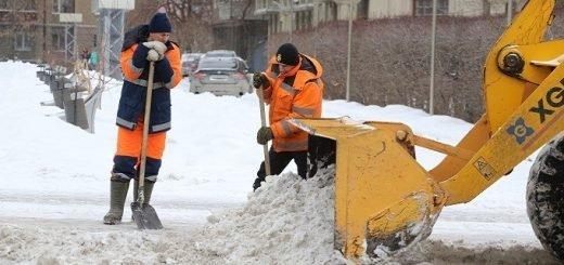 Какие улицы почистят от снега в ночь на 4 февраля в Новосибирске