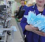 Новое производство медицинских масок запустили в Новосибирске