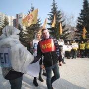 Жители Новосибирска  потребовали от мэра  убираться