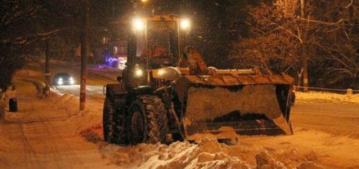 Какие улицы очистят от снега в ночь на 14 февраля в Новосибирске