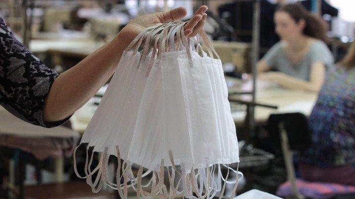 В Алтайском крае начали шить медицинские маски