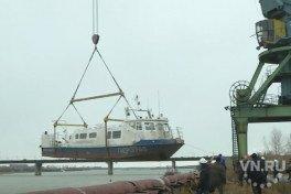 Гигант «Георгий Петров» прибыл из Печоры в Новосибирск